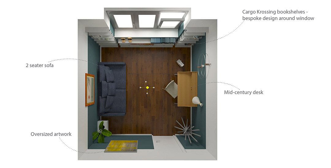 home office bologna edesign proposed layout