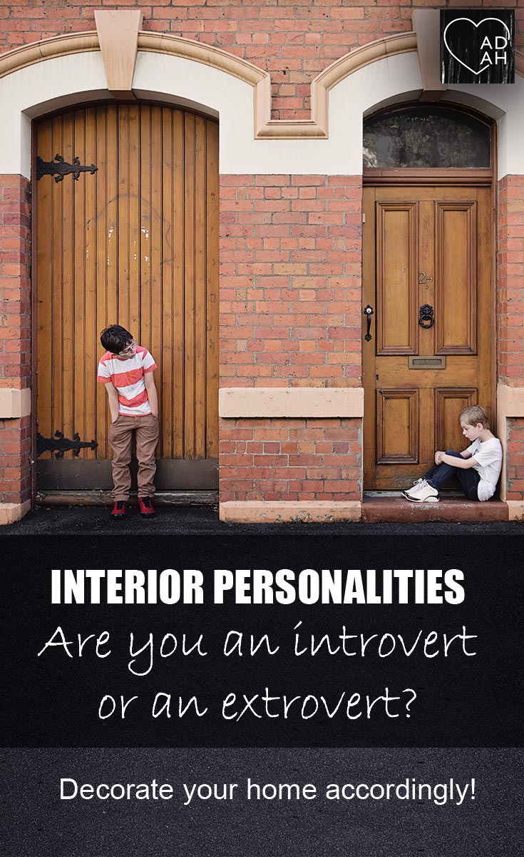 Interior design personality type